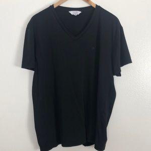 Calvin Klein V-neck black T-shirt size XXL